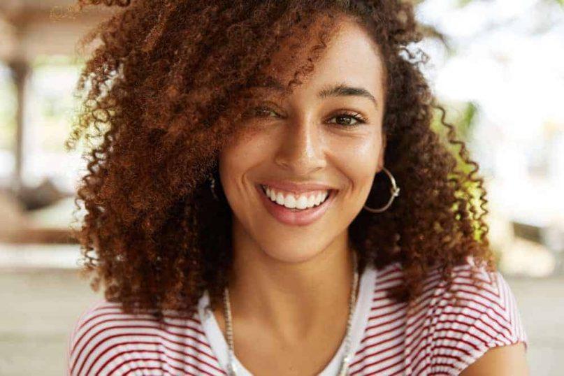 girl smile